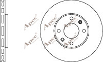 2x OE Quality Brand New Front Brake Discs - DSK2136 - 12 Month Warranty!