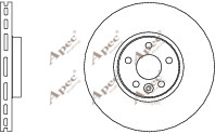 2x OE Quality Brand New Front Brake Discs - DSK2696 - 12 Month Warranty!
