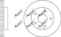 2x OE Quality Brand New Front Brake Discs - DSK816 - 12 Month Warranty!